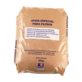 Areia especial para filtros 25Kg 596