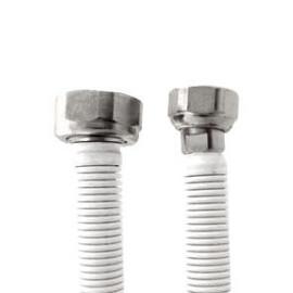 Tubo extensível em aço inox revestido UNE 60713 DN12 1/2x3/4'' fêmea-fêmea 10-17 cm
