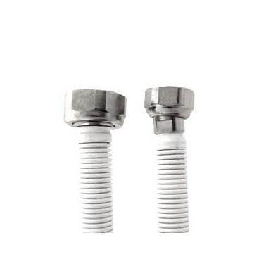 Tubo extensível em aço Inox revestido UNE 60713 DN12 1/2*3/4''Fêmea-Fêmea 10-17 cm