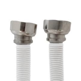Tubo extensível em aço Inox revestido UNE 60713 DN12 3/4''Fêmea-Fêmea 20-34 cm