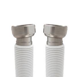 Tubo extensível em aço Inox revestido UNE 60713 DN20 3/4''Fêmea-Fêmea 75-127 cm