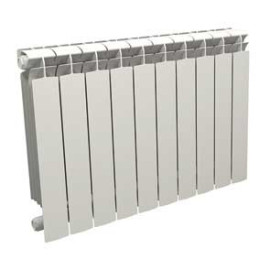 Radiador Seven branco 600 mm com 10 elementos