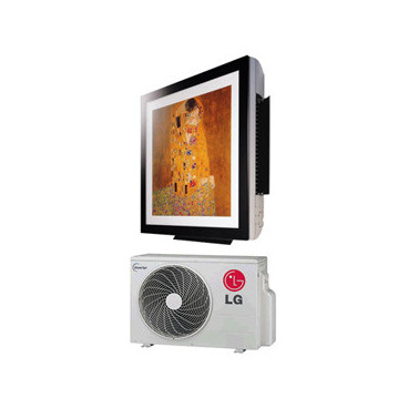 Conjunto Split LG Art Cool G12WLSmart InverterG12WL.NS3 com G12WL.UL2