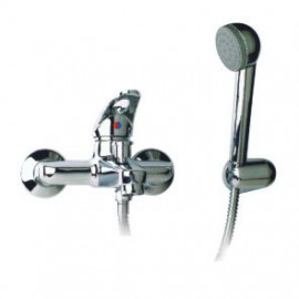 Misturadora banheira com chuveiro Novi7 (manípulo aberto) cromado