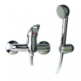 Misturadora duche com chuveiro Novi7 (manípulo aberto) cromado