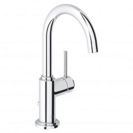 Misturadora de lavatório com válvula automática bica arco Atrio 32042003 Grohe