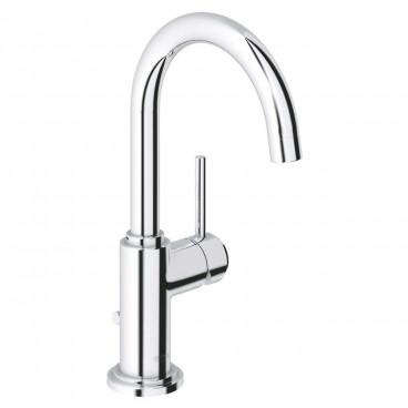 Misturadora de lavatório com válvula automática bica arco Atrio 32042001 Grohe