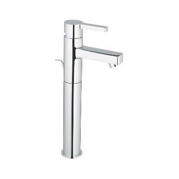 Torneira monocomando de lavatório alta com válvula automática Lineare 32250000 Grohe