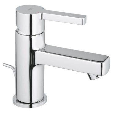 Torneira monocomando de lavatório baixa com válvula automática Lineare 32109000 Grohe