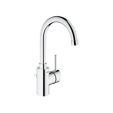 Misturadora de lavatório bica alta Concetto New 32629002 Grohe