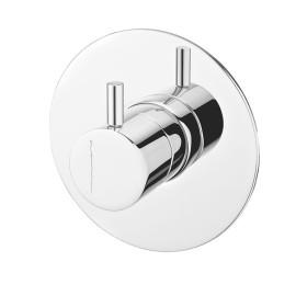 Misturadora de duche encastrar (1 via) cilíndrico