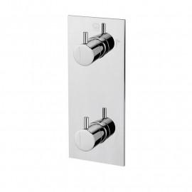 Misturadora de banheira/duche de encastrar (3 vias) cilíndrico