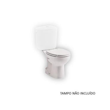 Sanita compacta MUNIQUE descarga ao chão branco S10012623600000 Sanitana