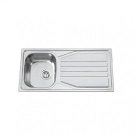 Lava-louça OKIO 102 FLAT (1 cuba 1000 x 500 mm) polido, Rodi
