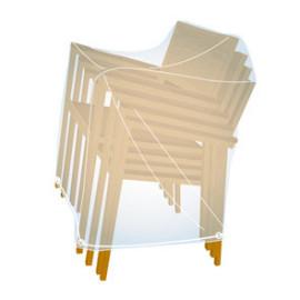 Cobertura cadeiras sobrepostas X4 2000032452 Campingaz