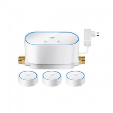 Kit Grohe Sense Guard + 3 sensores inteligentes a pilhas 22502LN0 Grohe
