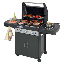 Barbecue a gás 3 Series Classic LS Plus Dark 2000031359 Campingaz