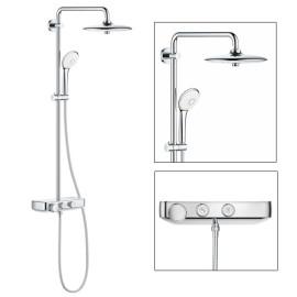 Sistema de duche com misturadora termostática Euphoria SmartControl e Chuveiro 260mm 26509000 Grohe