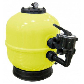 Filtro Aster laminado DN750 com válvula selectora manual 20613VCL56 Astralpool
