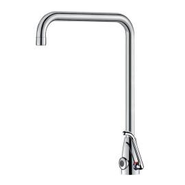 Misturadora eletrónica TEMPOMATIC MIX PRO para lavatório, com transformador 230/12 V, bica orientável, 495253 Delabie