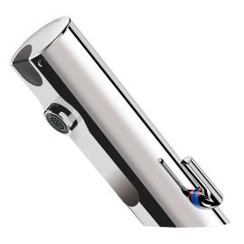 Misturadora eletrónica TEMPOMATIC MIX 4 para lavatório, F 3/8'' com pilha 6V integrada, 490101 Delabie
