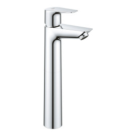 Monocomando de lavatório, corpo alto, sem válvula de descarga, Bauedge2020, 23761001 Grohe