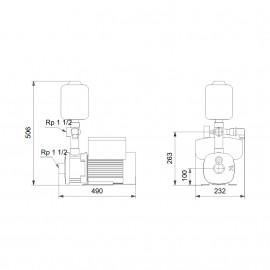 Grupo CMBE 10-54 (1x230V) 98382202 Grundfos