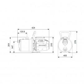 Bomba auto-ferrante JP5-48 (1x230V) 99458769 Grundfos