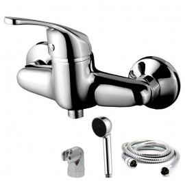 Torneira monocomando de duche com chuveiro Basiq W7, WBASIQ004