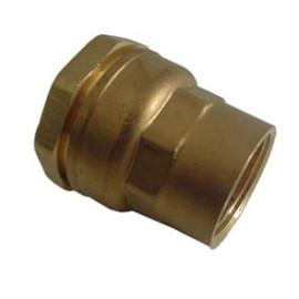 """União Deca 25 mm x 3/4"""" fêmea 860525 Caleffi"""