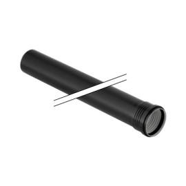 Tubo 75 mm com 1 metro, uma ponta abocardada,Geberit Silent-PP 390.304.14.1