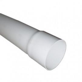 Tubo descarga 75 mm branco (3 m)