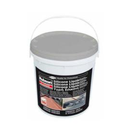 Silicone líquido Rubson cinza 5L