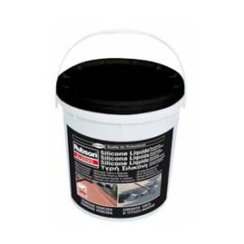 Silicone líquido Rubson preto 5L